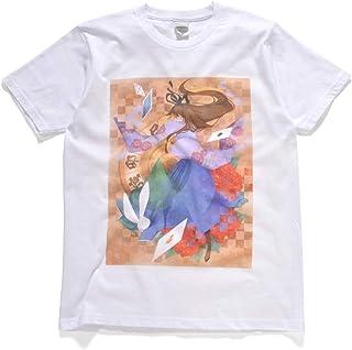 Okay Style フルグラフィックTシャツ「ふしぎの国のアリス × 和」5.0オンス