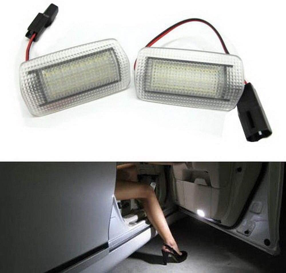 iJDMTOY 2 Full Excellent Super-cheap LED Side Door Wi Courtesy Assy Compatible Light