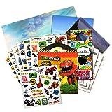 DINOTRUX Stickers Travel Activity Set Bundle with Stickers, Activities, and Specialty Door Hanger