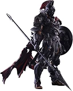 Siyushop Variant Play Arts Kai Bat Hero Timeless Sparta Action Figure - Bat Hero Action Character - Equipped with Weapons and Replaceable Hands - High 27CM
