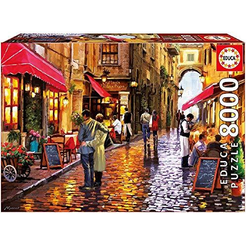 Puzzle 8000 Piezas  marca LELE