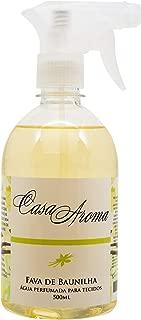 Água Perfumada 500Ml Fava de Baunilha Casa Aroma Amarelo