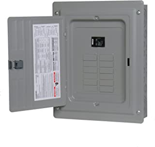 P1224B1100CU 100-Amp 12-Space 24-Circuit Main Breaker Load Center