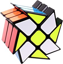 Ablave Rubik's Cube,Windmill Speed Cube Hot Wheels Twisty Puzzle for Kids' Intelligence Development, Speed Cubing Beginners or Puzzle Enthusiasts