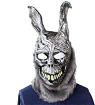 Donnie Darko Frank the Bunny Mask Latex Overhead with Fur Scary Animal Rabbit Mask.Free size.