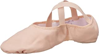 Bloch Dance Women's Pro Arch Canvas and Mesh Split Sole Ballet Shoe/Slipper