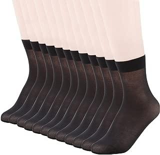 sheer black socks
