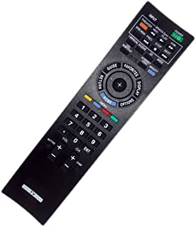 Replaced Remote Control Compatible for Sony KDL22EX308 KDL-40EX607 KDL-46EX700 KDL46EX600 KLV32BX300 KDL-46EX701 KDL32EX308 KDL-46EX600 KLV40BX400 KDL-55EX713 KDL-40EX400/H Bravia LCD LED HD TV