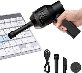 Powcan Mini Aspirateur sans Fil USB Rechargeable Aspirateur de Voiture sans Fil Portable pour Clavier Keyboard Ordinateur ...