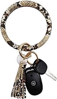 leather bracelet keyring