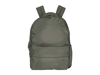 Lipault Paris City Plume Backpack (Khaki) Backpack Bags