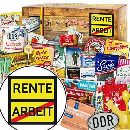 Rente / DDR Adventskalender / Weihnachtskalender Männer Ideen