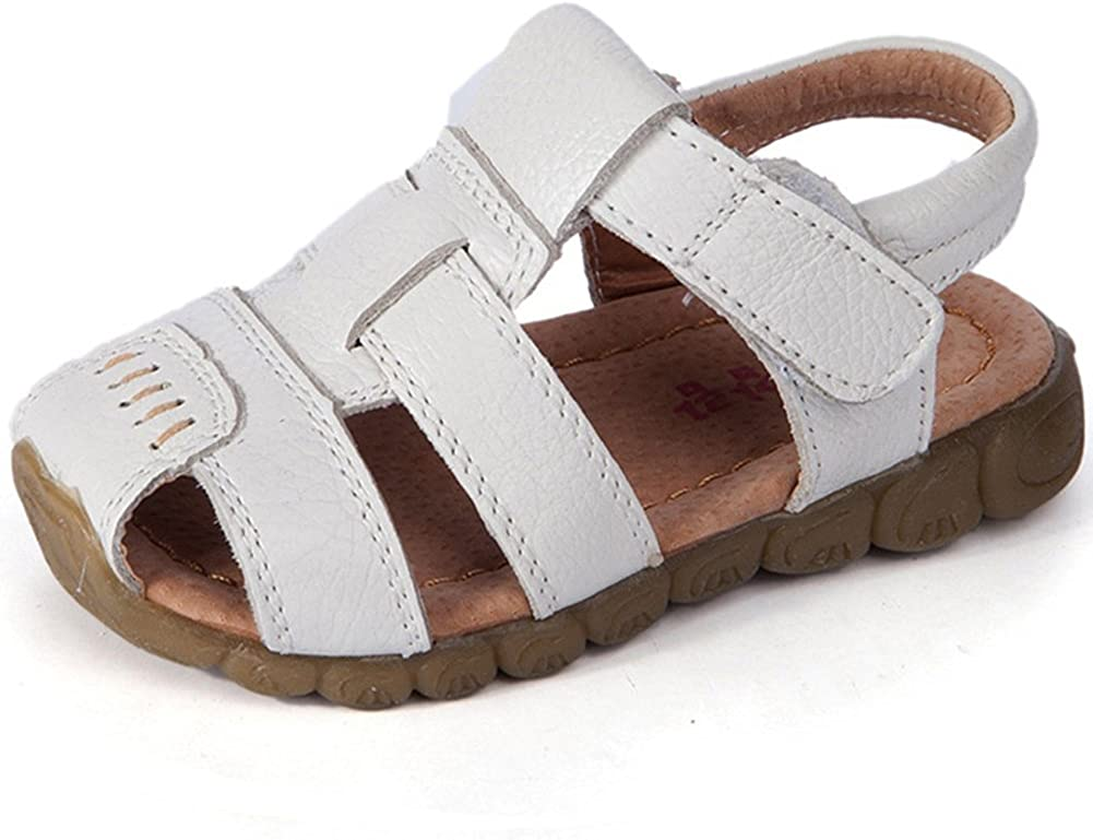 LONSOEN Leather Outdoor Super beauty product restock quality top! Sport for Boys Low price Fisherman Sandals