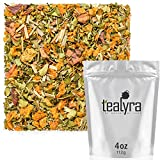 Tealyra - Heal Thyself Moringa and Sea Buckthorn - Lemongrass - Digestiv - Detox - Anti-Stress - Wellness Herbal Loose Leaf Tea - Caffeine Free - 112g (4-ounce)