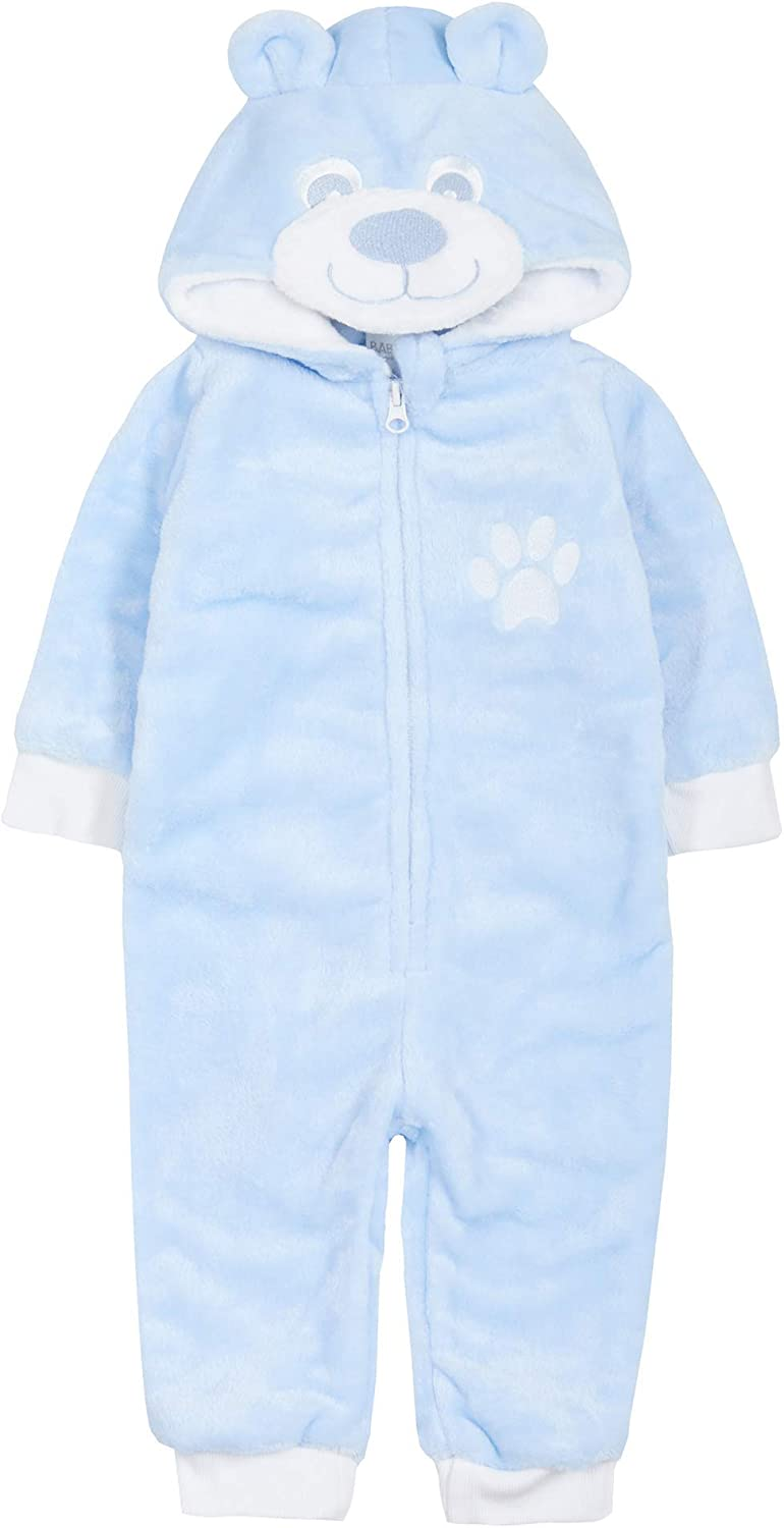 STC Stores Range of Babies Soft Fleece Winter Hooded Rompers/Bod