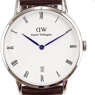 (ダニエルウェリントン) Daniel Wellington ダッパー ブリストル/シルバー 34mm 腕時計 1143DW [並行輸入品]