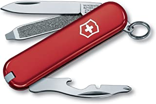 Victorinox Swiss Army Rally Pocket Knife,Red (54021)