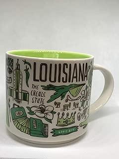 Starbucks 2018 LOUISIANA Been There Series Across The Globe Collection Ceramic Coffee Mug