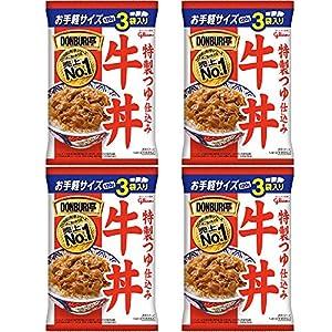 江崎グリコ DONBRI亭牛丼 120g 3食×4個