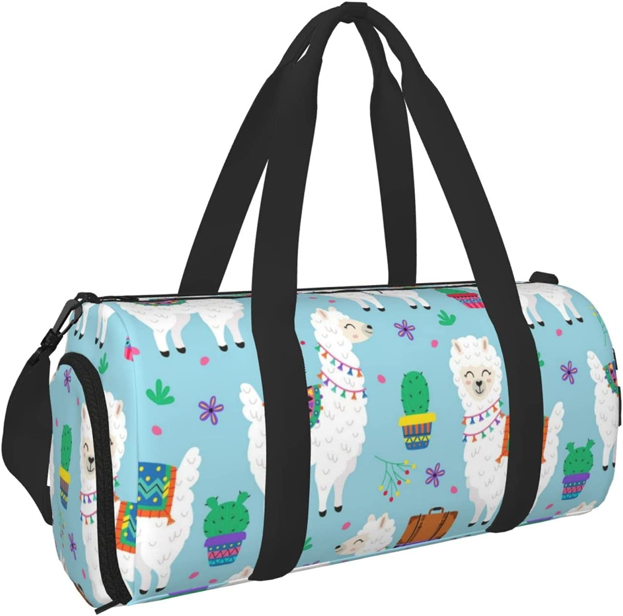 Kenaat Llama Sports Gym Bag With Ba Dry Duffel Separated Wet All Boston Mall items in the store