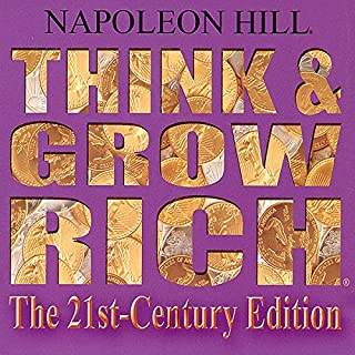 Think and Grow Rich The 21st Century Edition audiobook cover art