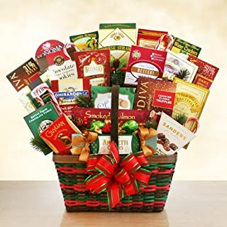 Holiday Classic Gourmet Christmas Gift Basket