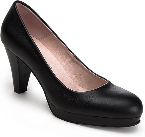 Zeddea Mod. Prougeocolo Colour Noir - Escarpins Confortables et élégantes