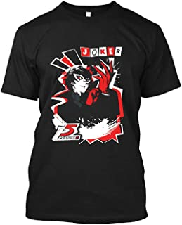 Persona 5 - Joker 10 Cotton short sleeve T shirt, Hoodie for Men Women Unisex