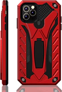 iPhone 11 Pro Max Case   Military Grade   12ft. Drop Tested Protective Case   Kickstand   Wireless Charging   Compatible with Apple iPhone 11 Pro Max - Red