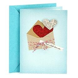 Hallmark Everyday Love Card, Romantic Birthday Card, or Anniversary Card (Love Note)