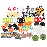 Halloween Toys, Assorted Party Favors for Kids (100 Pieces)