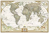 World Executive Poster Size Map: Wall Maps World (National Geographic Reference Map)