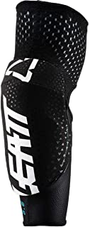 Leatt Youth 3DF 5.0 Junior Elbow Guards (One Size, White/Black)