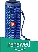 بلندگو بلوتوث قابل حمل JBL Flip 3 Splashproof ، آبی (تجدید شده)