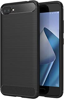 ASUS ZenFone 4 MAX ケース Simpeak ZC520KL対応 ソフト シリコン 炭素繊維 TPU ケース 耐衝撃 落下防止 保護カバー 5.2インチ対応