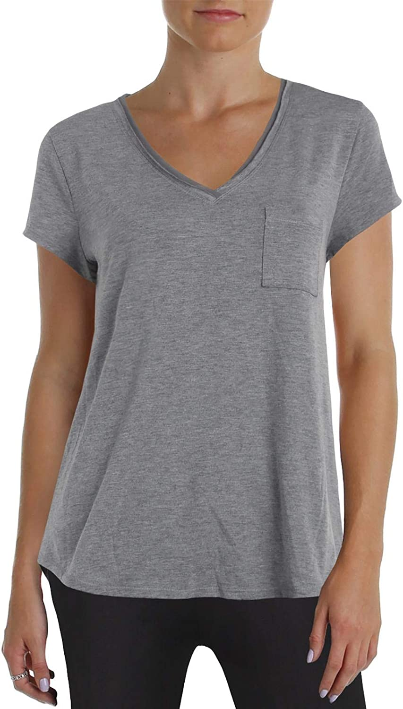 depot online shop Alfani Chiffon-Trimmed Knit Pajama Lounge Top