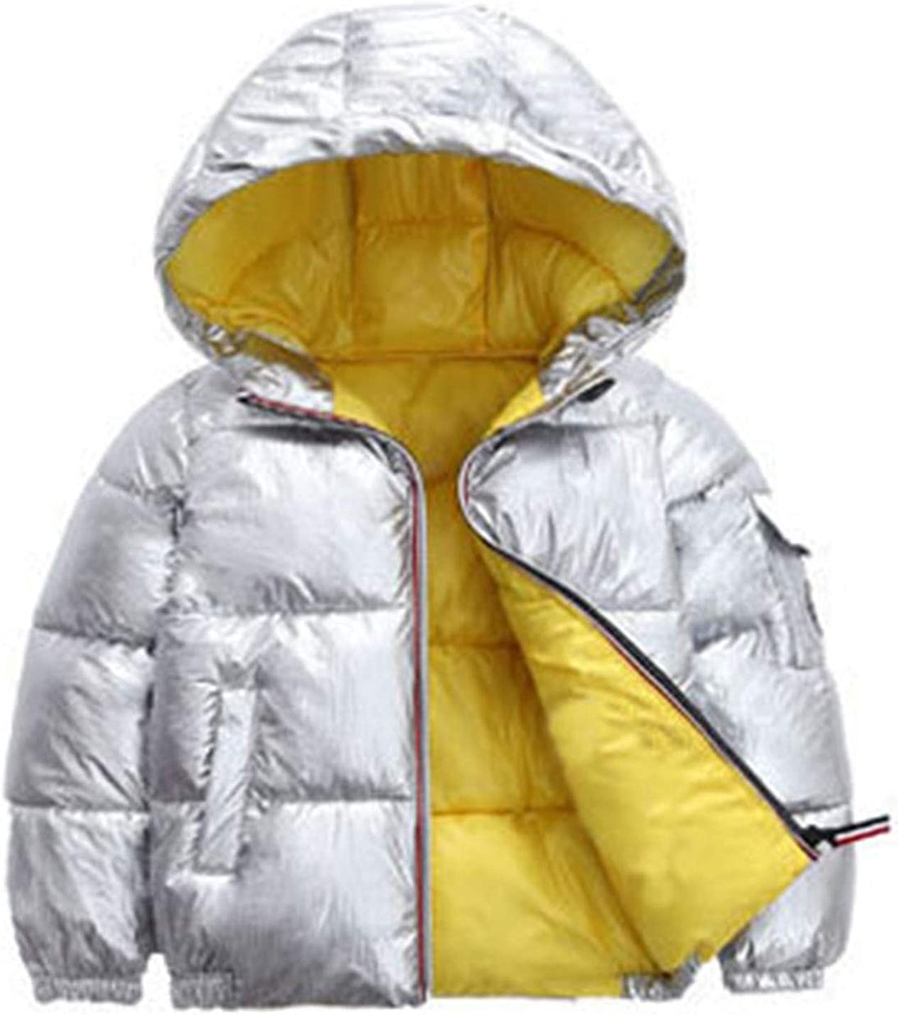 AMEBELLE Japan's largest Brand Cheap Sale Venue assortment Girl's Metallic Puffer Down Hooded Padded Cotton Jacket