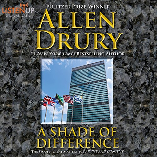A Shade of Difference audiobook cover art