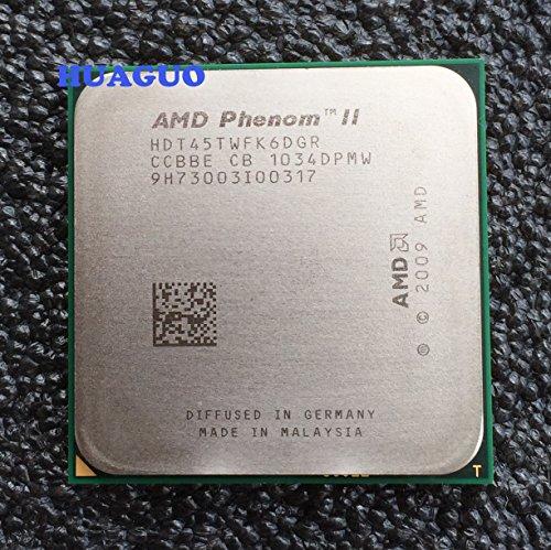 AMD Phenom II X61045T 2.7GHz Sechskern-CPU-Prozessor hdt45twfk6dgr Sockel AM3