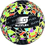 Sunflex American Neopren Beachball, Mehrfarbig, 3