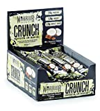 Warrior HIGH Protein Bars (20g Protein Each) - Low Carb, Low Sugar - Pack of 12 Caramel Crispy Crunch Bars - Milk Chocolate & Coconut