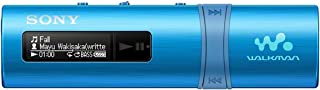 Sony NWZ-B183B Portable Walkman with Built-in USB - Blue
