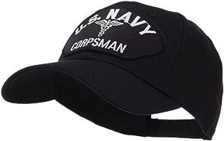 e4Hats.com US Navy Fan Shape Large Patch Cap