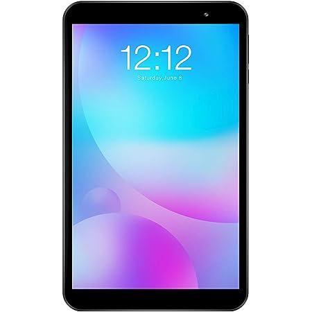 TECLAST P80 タブレット 8インチ、Android 10.0、RAM2GB ROM32GB、4コアCPU 1.6GHz、1280*800 HD IPS ディスプレイ、Type-C+デュアルWiFi 2.4G/5G+デュアルカメラ+Bluetooth5.0+TF拡張+4000mAh、WiFiモデル