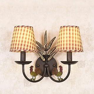 LONGWDS Lámpara de Pared Hotel Cafe Bar Living Room lámpara de Pared, lámparas de decoración de la Pared, lámpara de Pared...