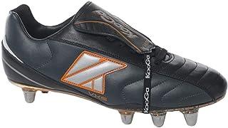Kooga VXS low cut soft toe rugby boot [black]