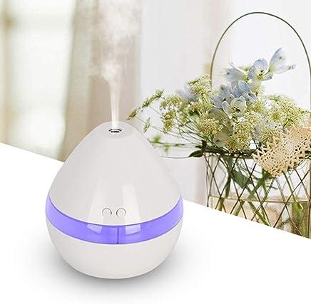 Leoie Elegante Inicio USB Carga de Aceite Esencial Difusor de Aroma Humidificador de Aire Purificador de