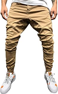 Man Pants Cotton Denim Tight Hole Biker Torn Jeans Skinny Cargo Straight Slim High Waist Stretch Elastic Pants Casual Autumn Summer Casual Sport Pants Loose For Men Momoxi