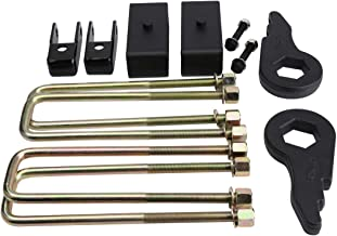 Full Lift Kit for Chevy Silverado GMC Sierra 1500 Classic 1999-2007 4WD,Glorider Adjustable 1