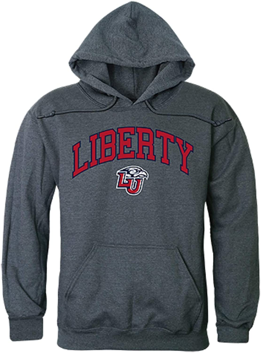 Liberty University Flames LU NCAA Hoodie Max Our shop most popular 42% OFF College Campus Sweatshi